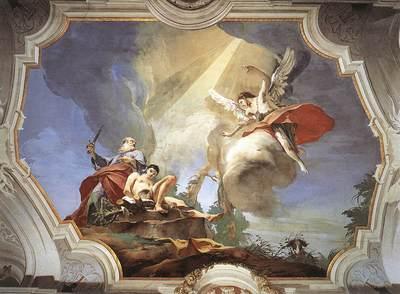 Tiepolo Palazzo Patriarcale The Sacrifice of Isaac