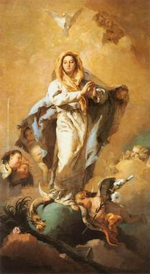 Tiepolo The Immaculate Conception