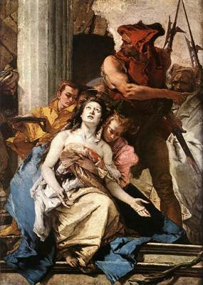 Tiepolo The Martyrdom of St Agatha