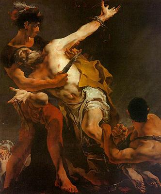 Tiepolo The Martyrdom of St  Bartholomew