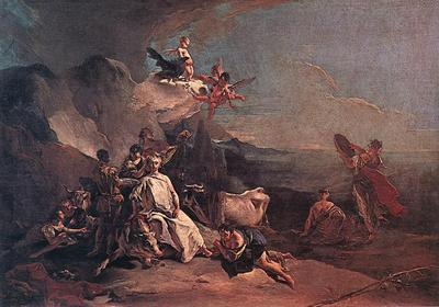 Tiepolo The Rape of Europa