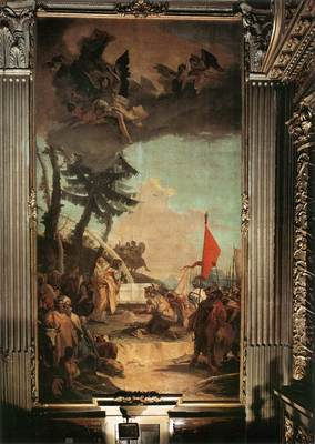 Tiepolo The Sacrifice of Melchizedek