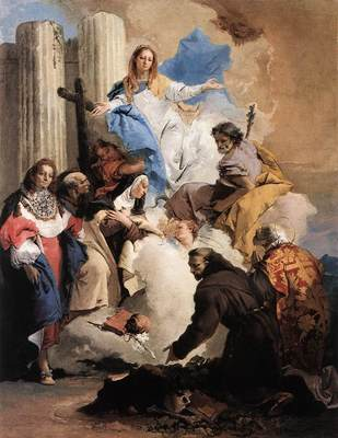Tiepolo The Virgin with Six Saints