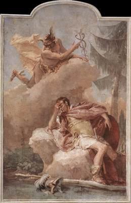 Tiepolo Villa Valmarana Mercury Appearing to Aeneas