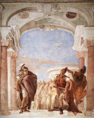 Tiepolo Villa Valmarana The Rage of Achilles
