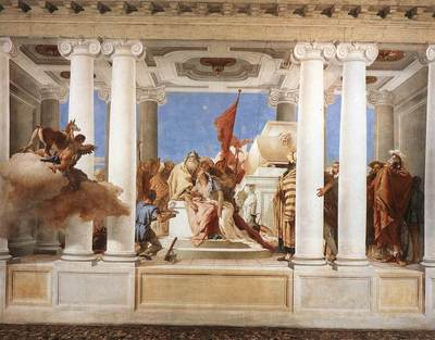 Tiepolo Villa Valmarana The Sacrifice of Iphigenia
