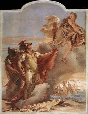 Tiepolo Villa Valmarana Venus Appearing to Aeneas on the Shores of Carthage