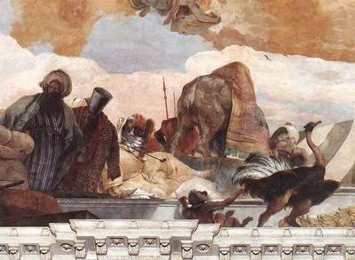 Tiepolo Wurzburg Apollo and the Continents detail4