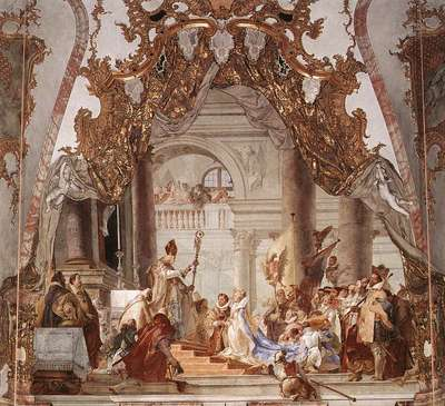 Tiepolo Wurzburg The Marriage of the Emperor Frederick Barbarossa to Beatrice of Burgundy