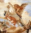 Tiepolo Palazzo Labia Bellerophon on Pegasus detail1
