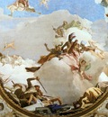 Tiepolo The Apotheosis of the Pisani Family detail1