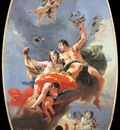 Tiepolo The Triumph of Zephyr and Flora