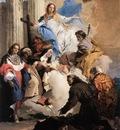Tiepolo The Virgin with Six Saints