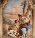 Tiepolo Villa Valmarana Angelica Carving Medoro s Name on a Tree