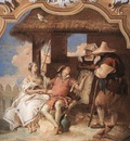 Tiepolo Villa Valmarana Angelica and Medoro with the Shepherds