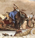 Tiepolo Wurzburg Apollo and the Continents detail7