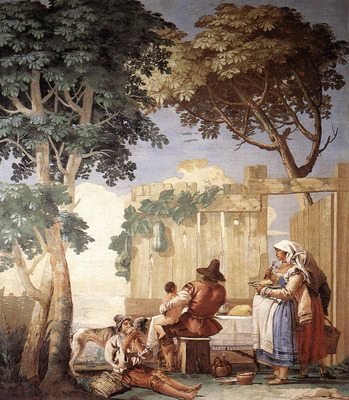 TIEPOLO Giovanni Domenico Family Meal