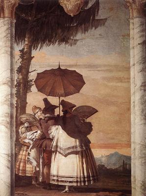 TIEPOLO Giovanni Domenico Summer Stroll