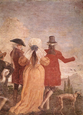 TIEPOLO Giovanni Domenico The Promenade