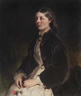 portrait of christine freifrau von schonberg