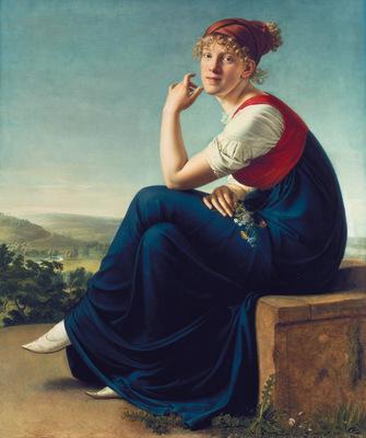portrait of heinrike dannecker