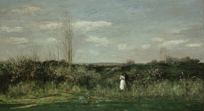 spring landscape daubigny