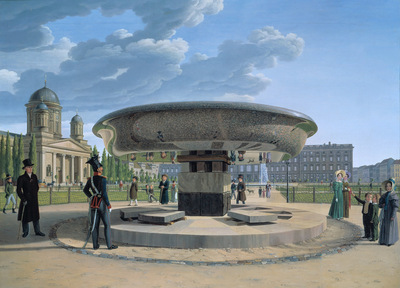 the granite dish in the berlin lustgarten