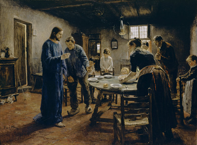 the mealtime prayer