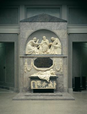 tombstone for count alexander von der mark