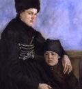 dachau woman and child