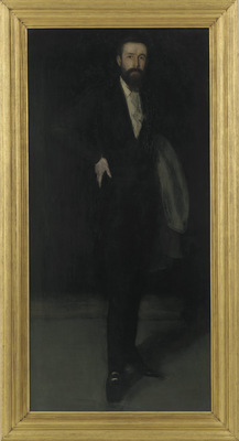 arrangement in black portrait of f r leyland