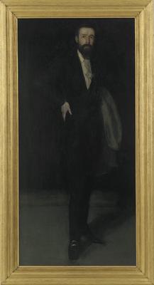 arrangement in black portrait of f r leyland