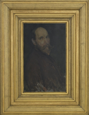 portrait of charles lang