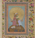 the st petersburg album allegorical representation of emperor jahangir and shah