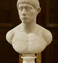 bust of a young roman