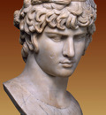portrait of antinous as dionysius