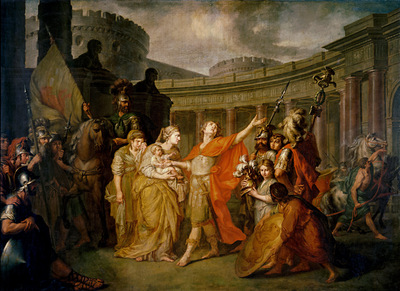 farewell of hector and andromache