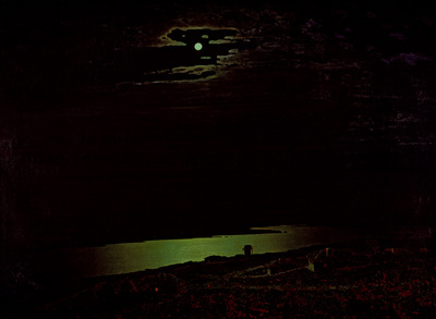 moonlit night on the dniepr