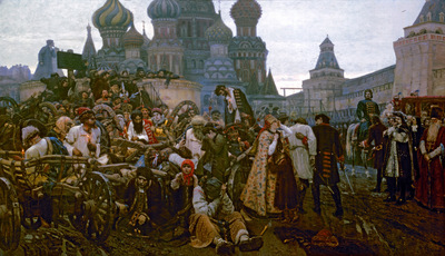 morning of the execution of the streltsy