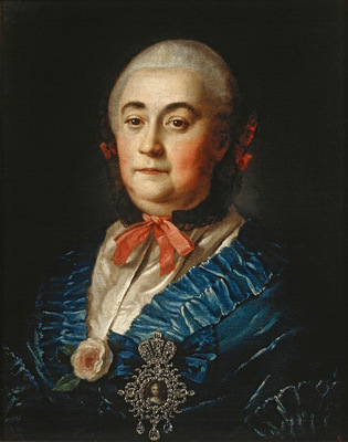 portrait of a m izmailova