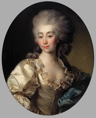 portrait of countess ursula mniszek