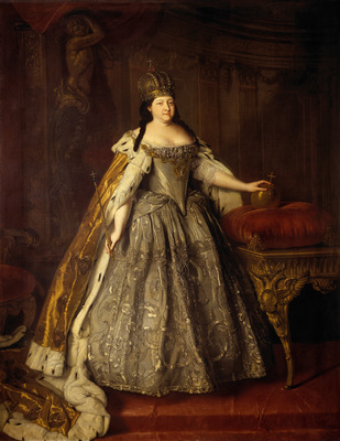 portrait of empress anna ioannovna