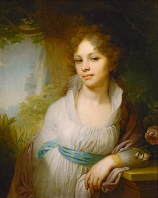 portrait of m i lopukhina