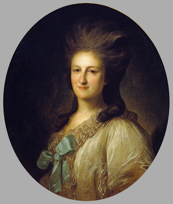 portrait of v e novosiltsova