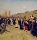 krestny khod religious procession in kursk gubernia