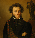 portrait of a s pushkin