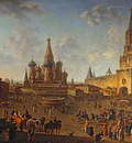 red square in moscow