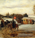 the spring pilgrimage of the tsarina under tsar aleksy mihailovich