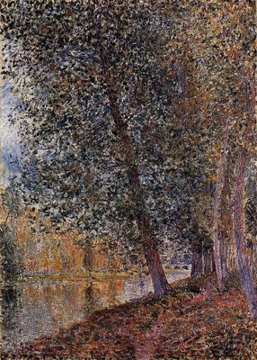 Banks of the Loing Autumn