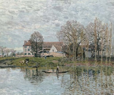 Banks of the Seine at Port Marly